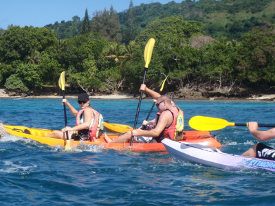 Kayaking in Port Vila